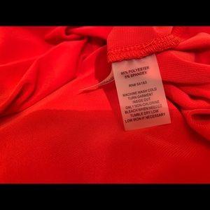 Calvin Klein Dresses - NWT Calvin Klein red sleeveless dress